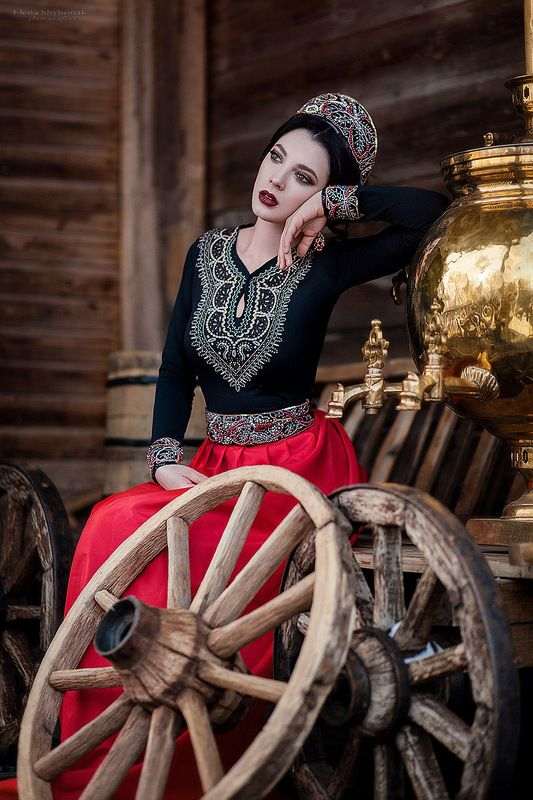 fairy tale Russian beauty winter   ***photo preview
