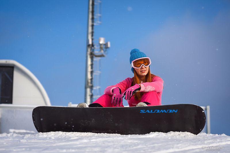Сноубордисткаphoto preview