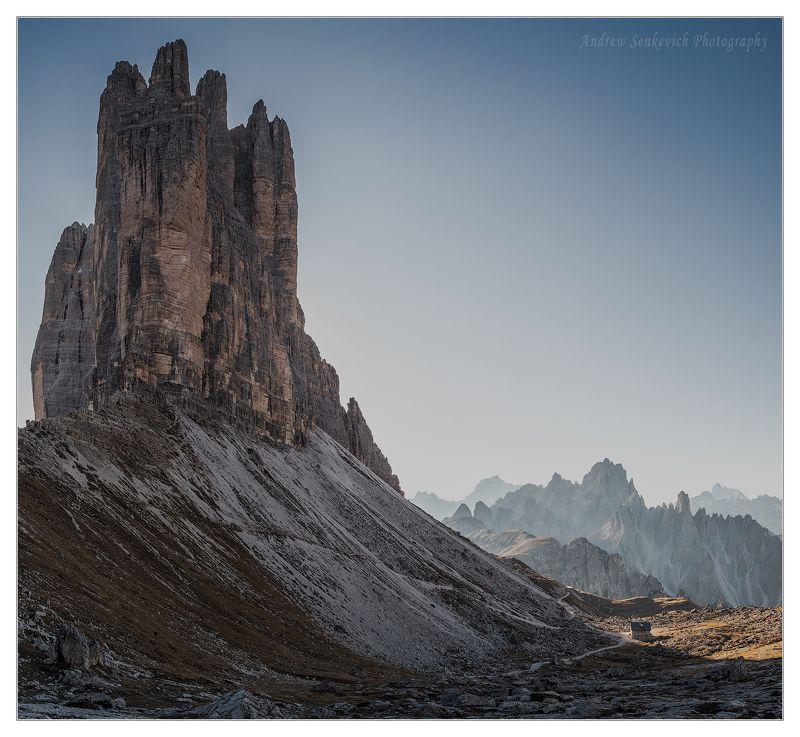 доломиты, италия, осень, фототур, пейзаж, горы, тре чиме Толстый и тонкий :-)photo preview