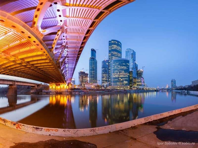 москва-сити, мост, москва, москва-река, дорогомиловский мост, moscow-city, bridge, moscow, moscow river, dorogomilovsky bridge Индустриально-городо-мосто-реко-панорамный пейзажphoto preview