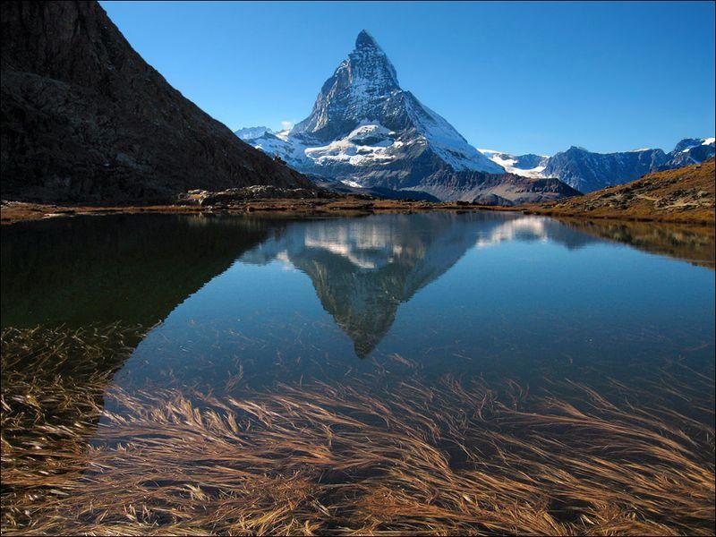 швейцария, маттерхорн, горы, озеро, отражения, свет, путешествие, switzerland, matterhorn, mountains, lake, reflections, light, travel, along Маттерхорнphoto preview
