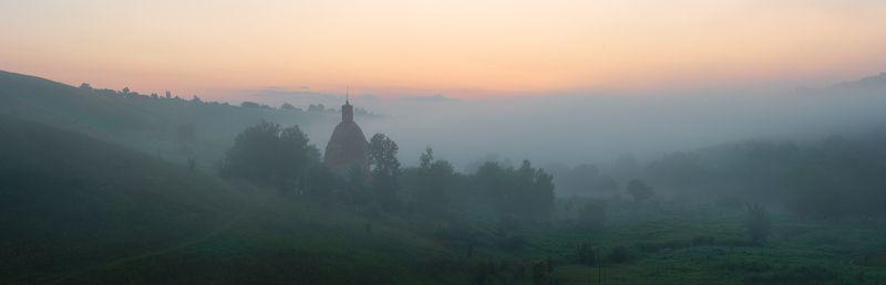 раннее утро на реке Красивая Мечаphoto preview