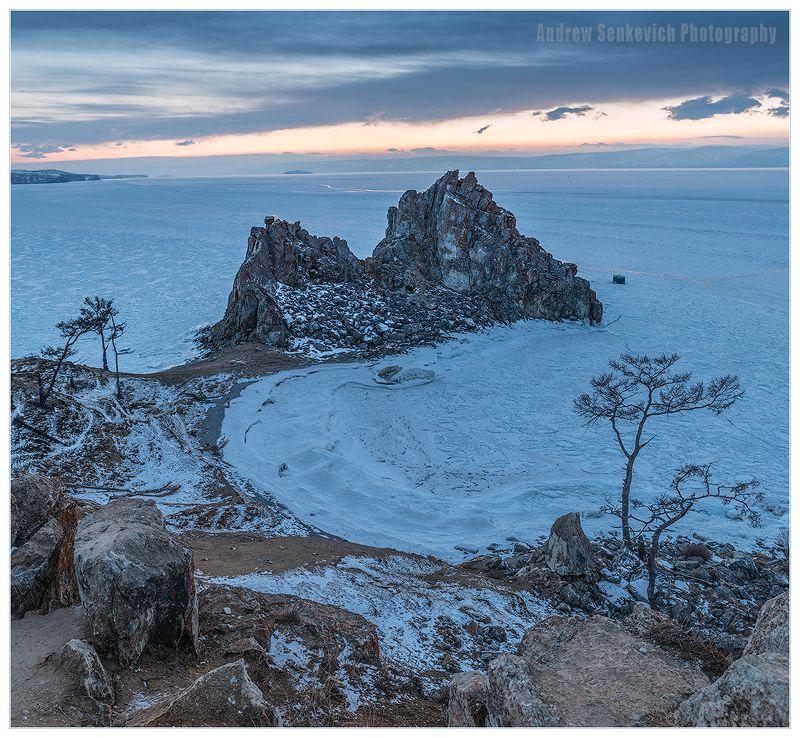 байкал, ольхон, бурхан, шаманка, закат, весна Байкальские ностальгические :)photo preview