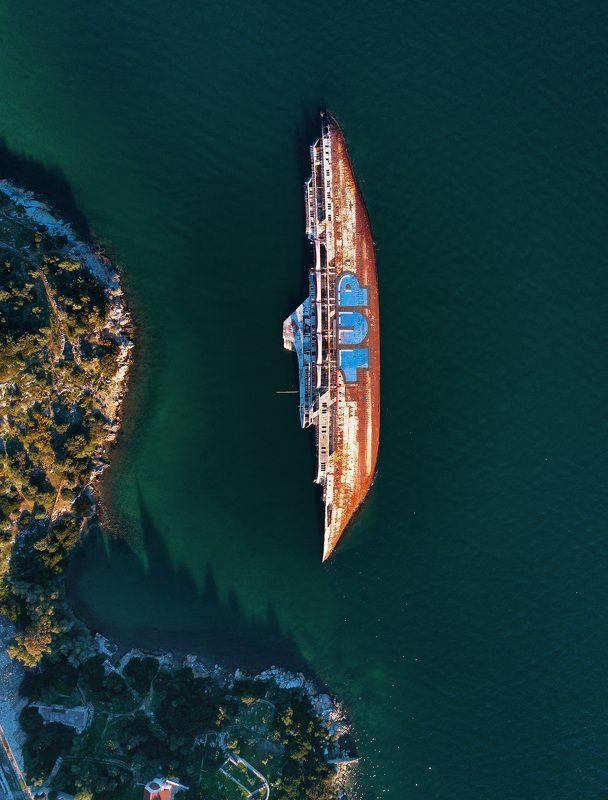 греция, дрон, drone ***photo preview