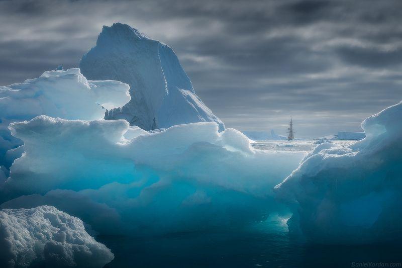 антарктида Цвет льдаphoto preview