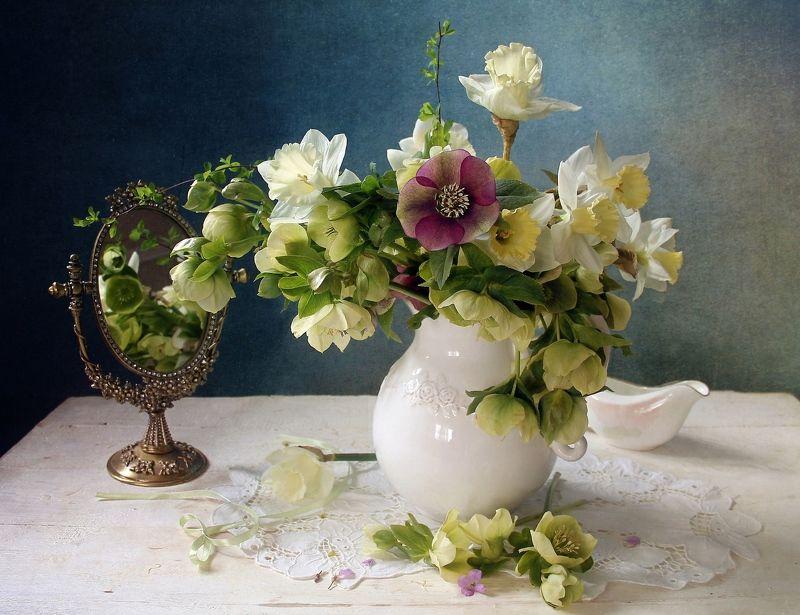 весна, цветы, первоцветы, натюрморт, марина филатова Весеннее настроениеphoto preview