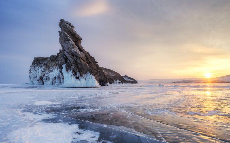 ...Восход у острова Огой...photo preview