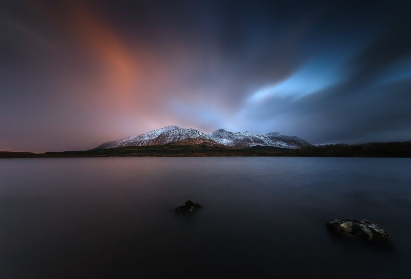 Connemara, Ireland, Sunset, Ireland, longexposure Connemaraphoto preview