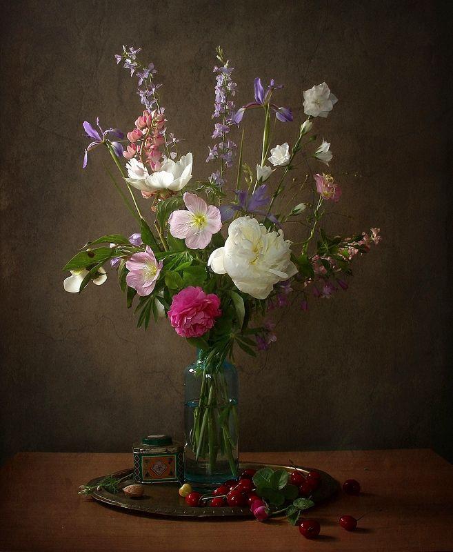 натюрморт, цветы, марина филатова Сквозь лепестки доверчивых цветов...photo preview