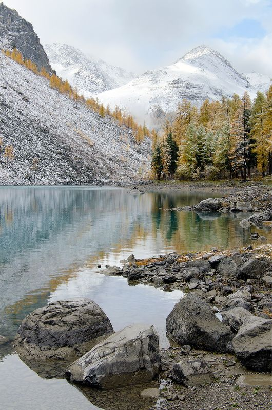 Алтай, оз. Нижнешавлинское в краю красотphoto preview