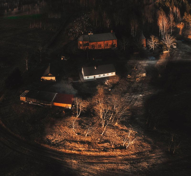 Закат над Райполемphoto preview