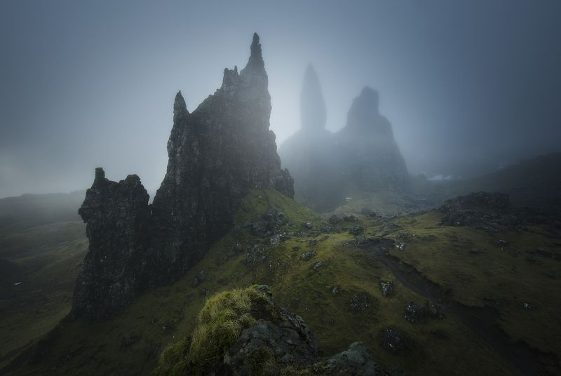 scotland, isleofskye, elgol, nature, landscape, пейзаж, clouds, dramatic Scotland, Isle of skyephoto preview