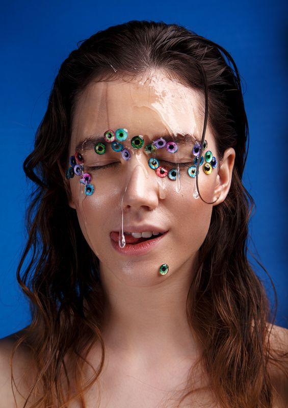 девушка, портрет, бьюти, макияж, beauty, portrait, retouch Slimephoto preview