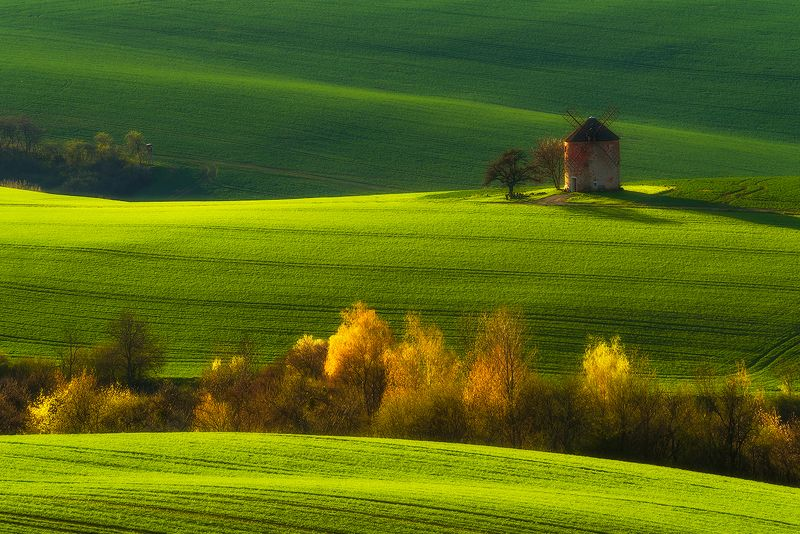 spring south moravia fields green  Moravian Spring...photo preview