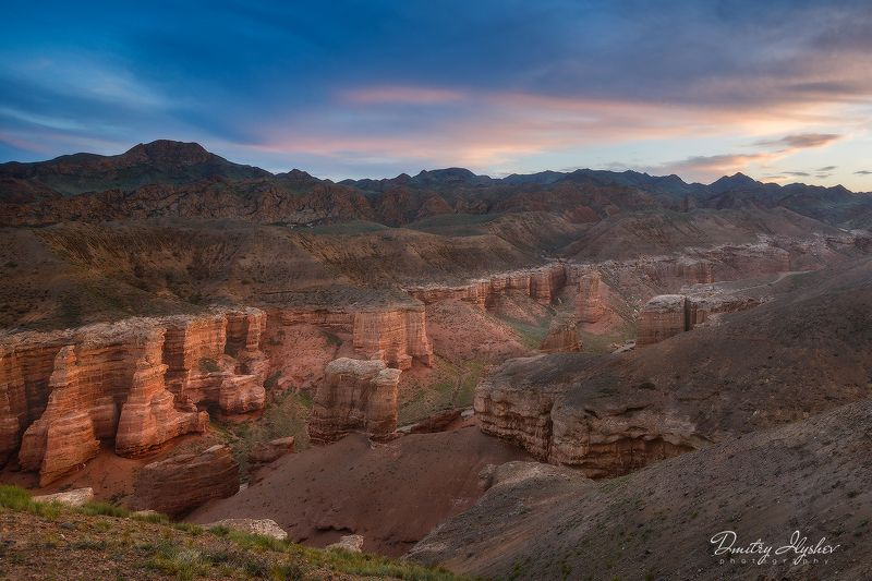 казахстан, каньон, рассвет, закат, чарын, фототур, илышев, чарынский каньон, пейзаж, природа Великий Чарынский каньонphoto preview