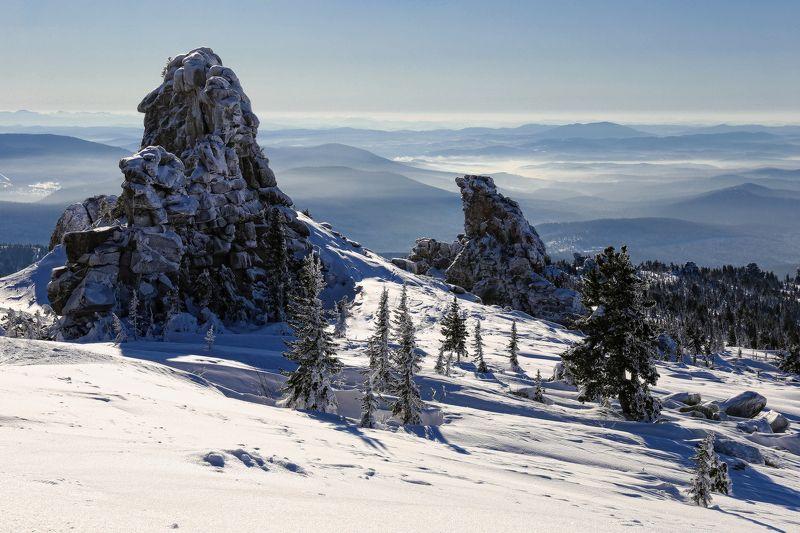 горная шория, сибирь, шерегеш В стране великановphoto preview