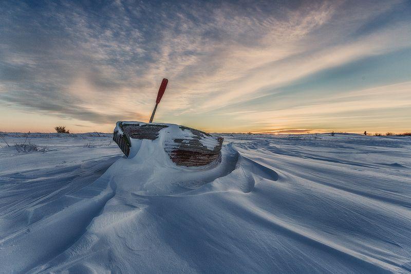 белое море, соловки ...photo preview