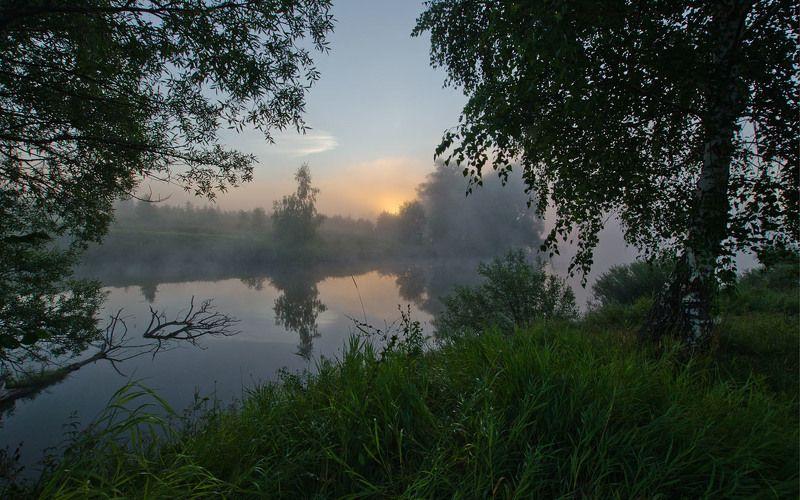 утро, рассвет, пейзаж, природа, лето Будет новый деньphoto preview