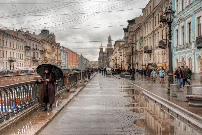 Дождливой апрельской субботой на канале Грибоедова СПбphoto preview