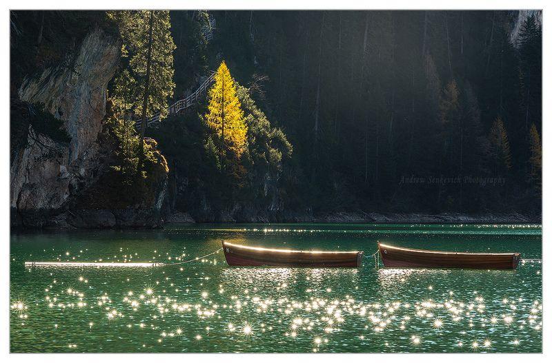озеро, брайес, осень, лодки, фототур, отпуск, красота Звёздный дуэт с озера Брайес :)photo preview