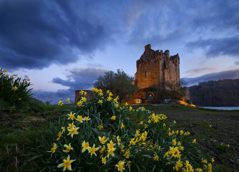Eilean Donan Castle. Scotland.photo preview
