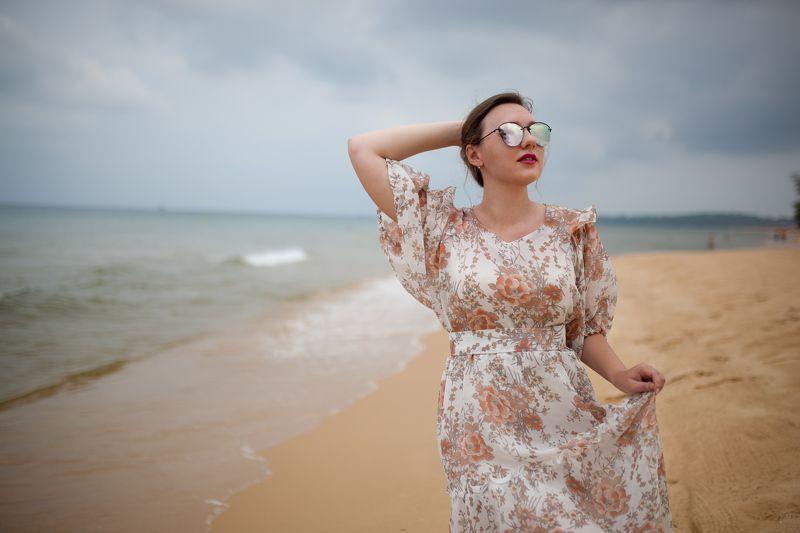 портрет, девушка, красиво, пляж, вьетнам, фукуок, лето Good day!photo preview