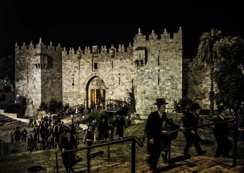 Дамасские ворота . Иерусалим.photo preview