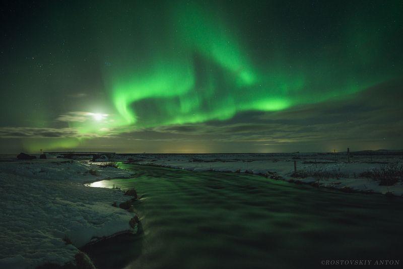 Iceland, Исландия, сияние, фототур, фотопутешествие Мартовские переливыphoto preview