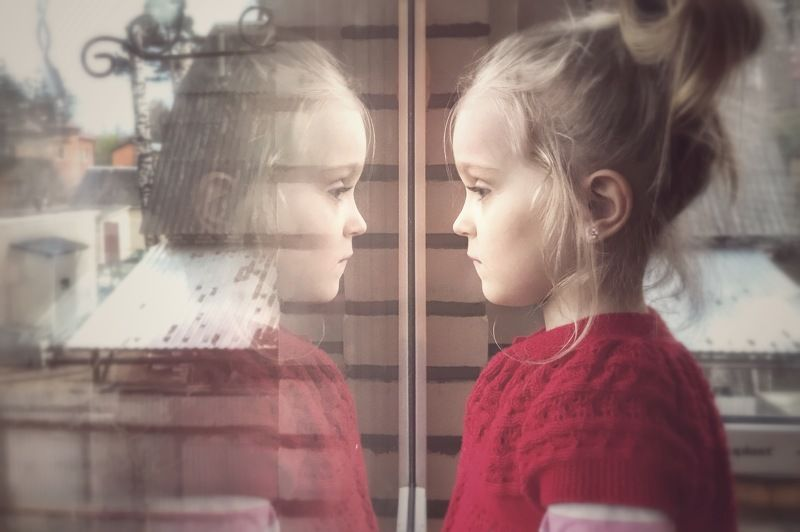 Детство, семья, ребёнок, отражение, childhood, child, family А мне гулять...охотаphoto preview
