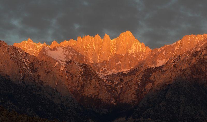 mount whitney, usa, sunrise Mount Whitneyphoto preview