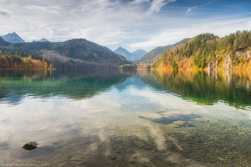 Альпийское озеро.photo preview