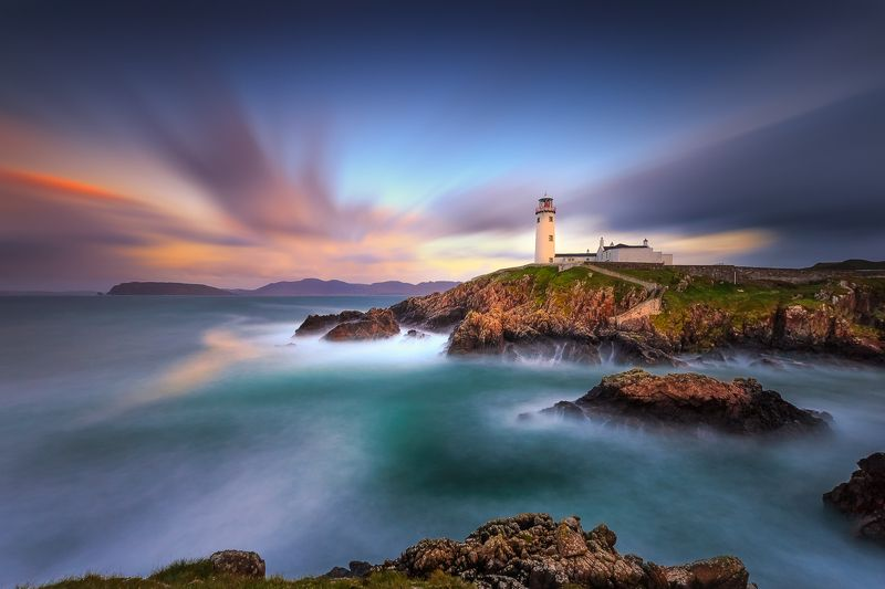 Fanad Head Lighthouse, longexposure, sunset, sunrise, landscapes Fanad Head Lighthousephoto preview