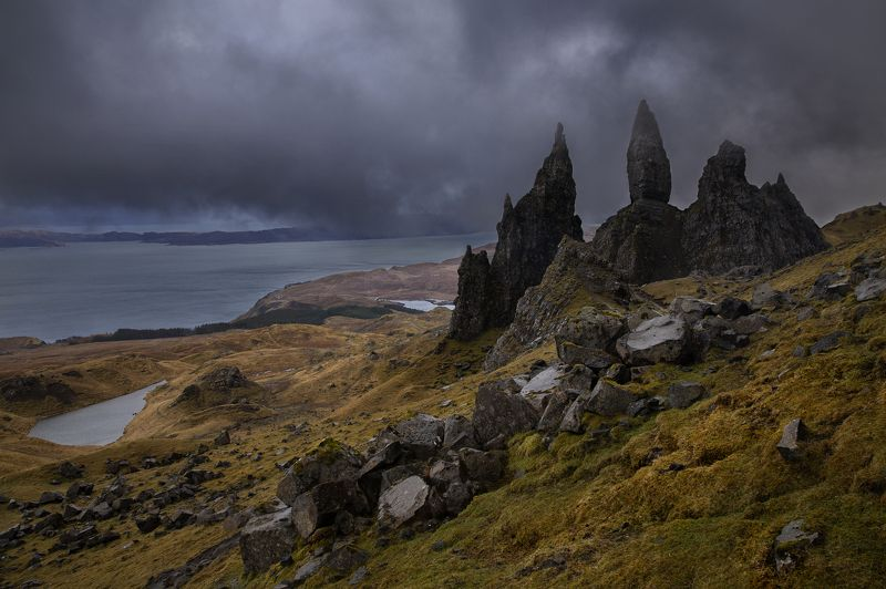 Шотландия. Накрывает.photo preview