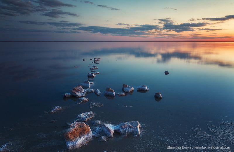 Закат на Эльтонеphoto preview