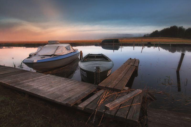 Утро у озераphoto preview