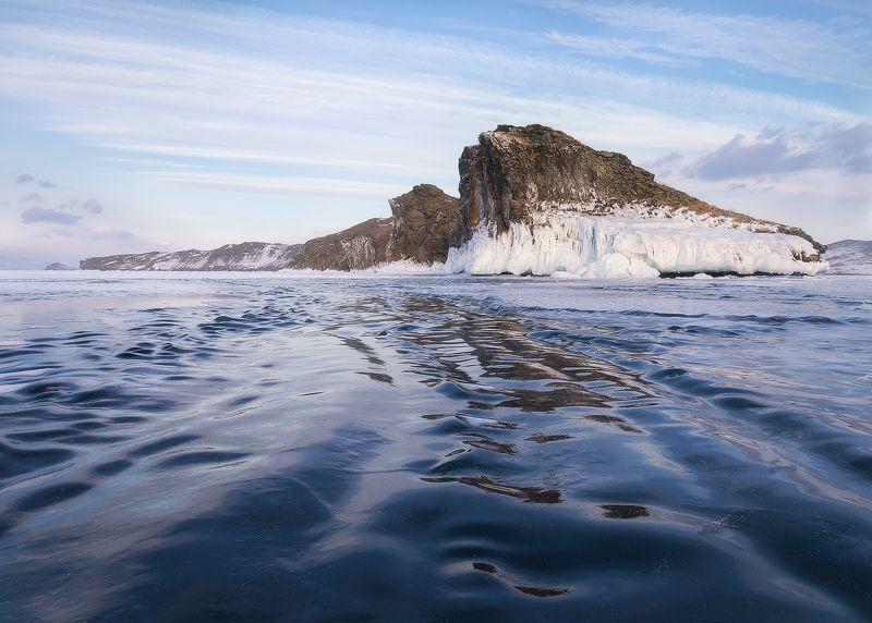 ...Ледяные волны озера Байкал...photo preview
