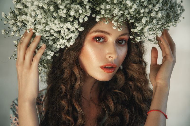 girl,portrait,retouch,flowers,портрет,девушка Victoriaphoto preview