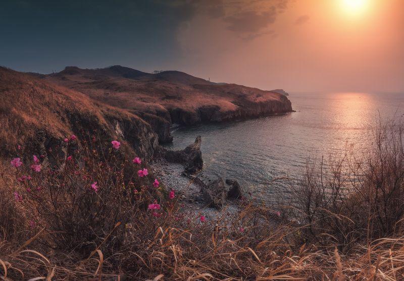 весна, апрель, море, скалы, ***photo preview