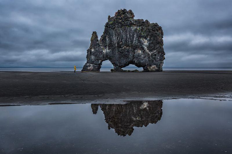 исландия, iceland, hvitserkur, хвитцеркур Беседа наедине.photo preview