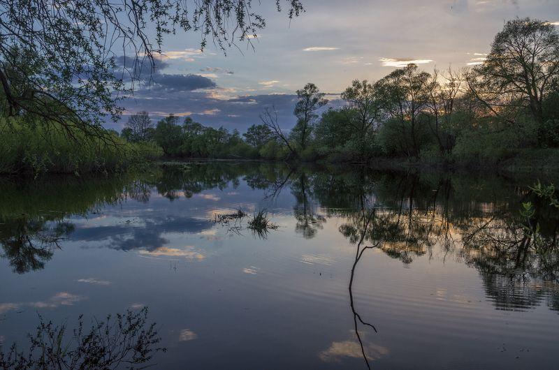 nevant60 пейзаж касота Закат в тихом уголкеphoto preview