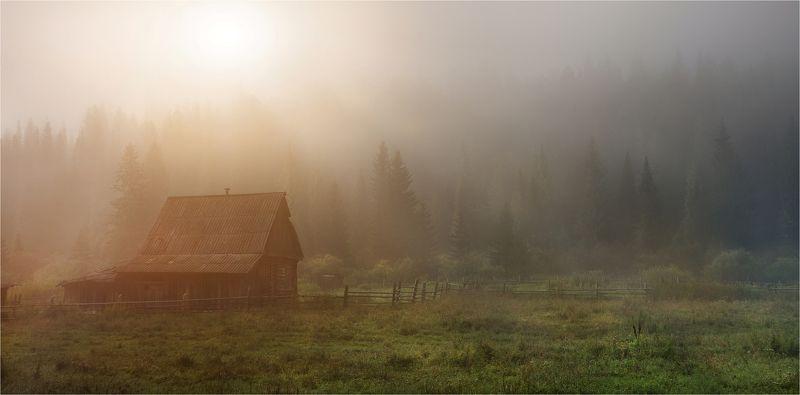 сибирь, таштагол, кузбасс, деревня В Сибирской глуши...photo preview