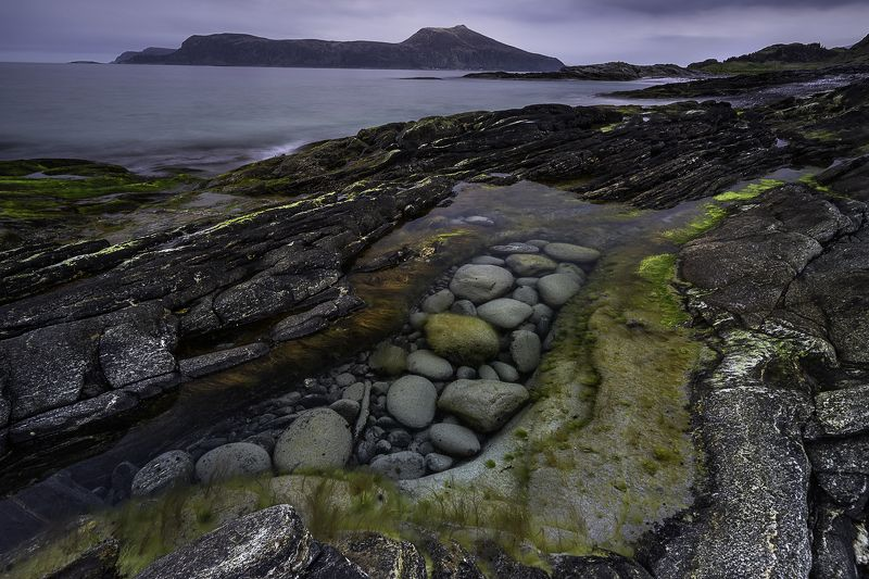 stones, rocks, beach, norway, landscape, colours, forms, structures The Stonesphoto preview