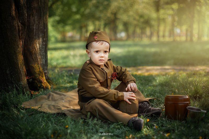 portrait, мальчик, портрет, война, 9мая, солдат Александрphoto preview