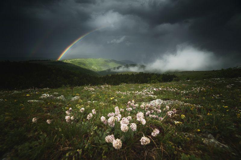 Дъга в планинатаphoto preview