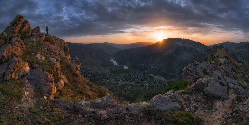 дагестан, кавказ, гуниб Дагестан. Новый день в Гунибе.photo preview