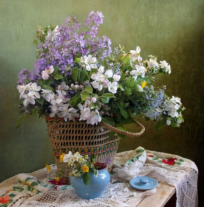 весна, цветы, первоцветы, натюрморт, марина филатова Как хороша весна в деревнеphoto preview