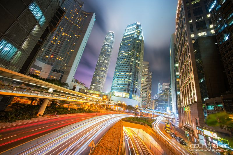 Hong Kong by nightphoto preview