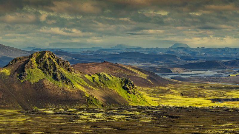 исландия, iceland, landmannalaugar, пейзажи исландии, горы исландии, цветные горы исландии, вулканы исландии В долине спящих вулкановphoto preview