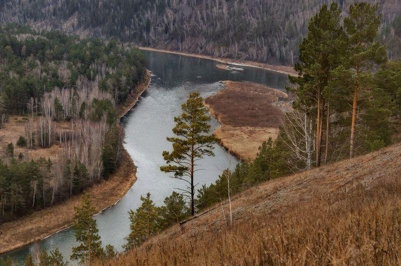 красноярский, край., р., мана. Вдоль сибирской реки..photo preview