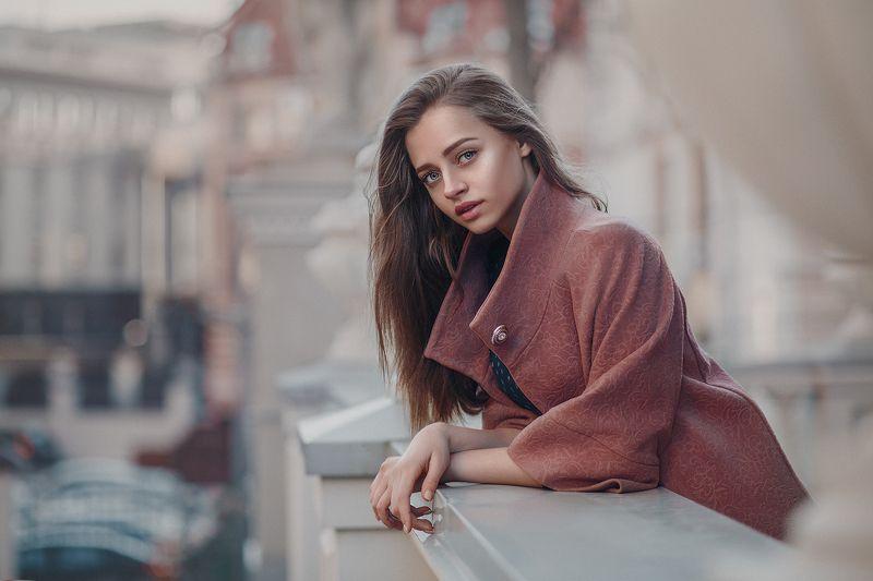 jay lay, портрет, девушка, модель Ксенияphoto preview